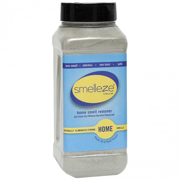 SMELLEZE Natural ROOM/House Smell Remover Deodorizer: 2 lb Powders Get HOUSE Smell Out Fast