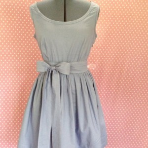 Custom Tea Dress - Solid Color