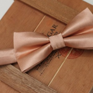 Rose Gold Tie Pre-tied Bow Tie - Rose Gold Bow Tie - Gold Bow Tie - Groom Bow Tie - Pink Bow Tie - Adult Bow Tie - Baby Bow Tie - Wedding