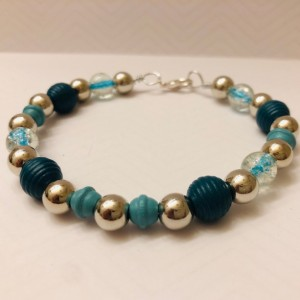 Turquoise and Silver Jewelry Set