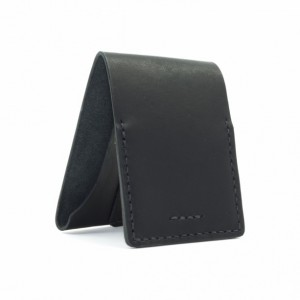 Horween Leather Billfold in Black