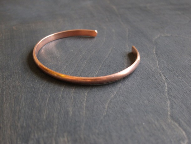 Womwn's Classic 100% Recycled Copper Cuff Bracelet