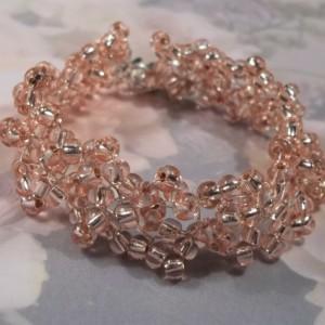 Preciosa Silver Rose Crystal Special Ocassion Bracelet