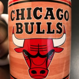 Custom Made Chicago Bulls 11oz Coffee Mug