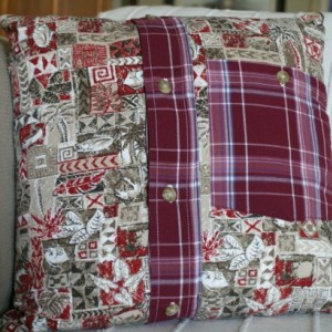 Red Herring Pillow