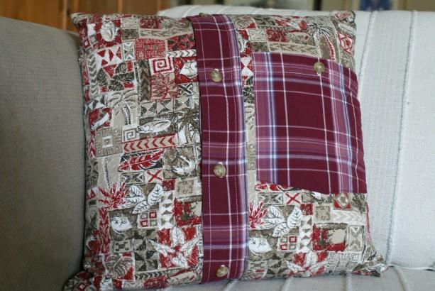Red Herring Pillow