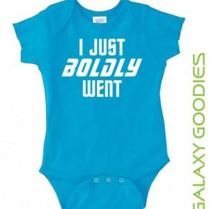 I Just Boldy Went - Star Trek - Baby Onesie