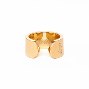 KINKY RING: 18-KARAT GOLD (MATTE)