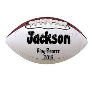 Miniature Personalized Football
