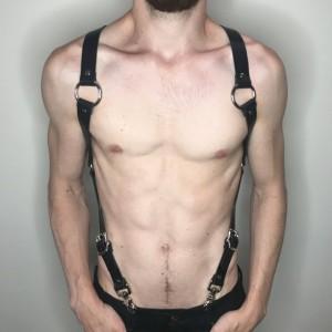 X Back Harness Suspenders