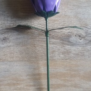 Purple Steel Rose
