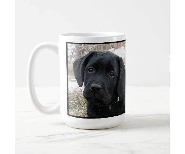 Black Labrador Coffee Mug Lab Cup Gift