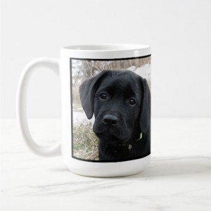 Black Lab Mug 6AS- Labrador Mug - Black Lab Gifts - Labrador Gifts - Lab Dog - Lab Mom - Labrador Retriever - Black Dog Art - Black Lab Art