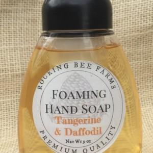 "Foaming Hand Soap ""Tangerine & Daffodil"""
