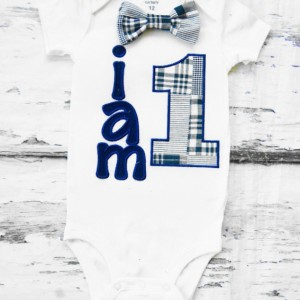 Boy first birthday Outfit I am 1 navy plaid baby boy cake smash I am 1 one year outfit birthday outfit birthday family shirts