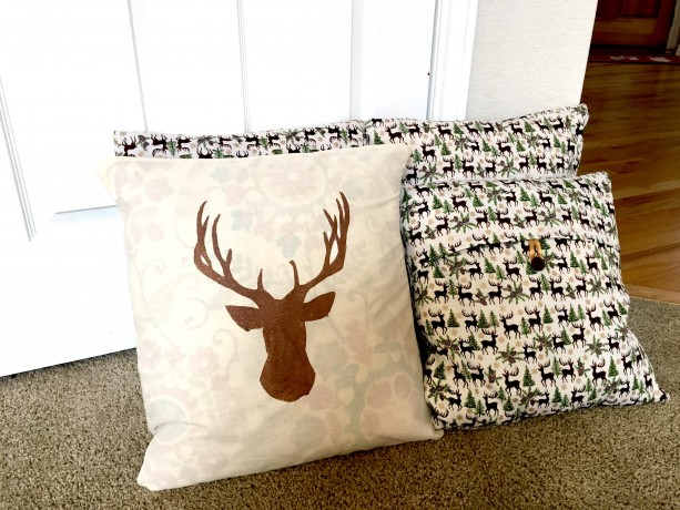 Cotton Throw pillowcase