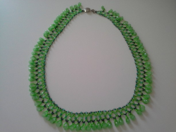 The Power of Green Necklace