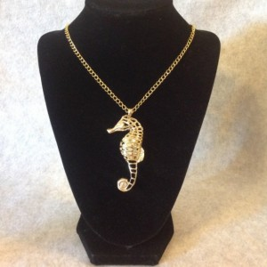 Seahorse Gold Necklace