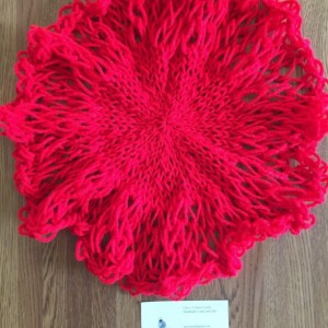 Knit Decorative Doily by Give A Yarn Crafts