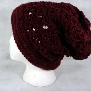 Slouch hat - burgundy slouch hat - burgundy hat - slouchy beanie - gift under 50 - gift for her - gift for friends - gift for coworkers