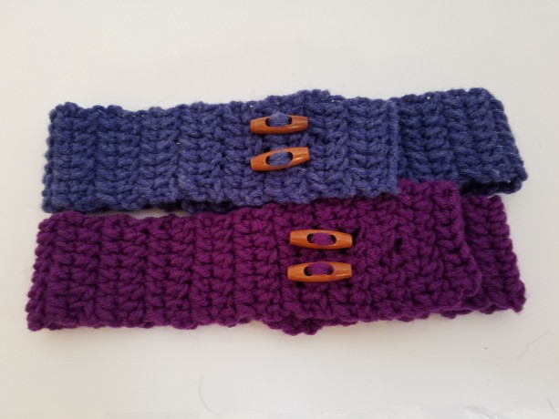 Adjustable Headband with Toggle Buttons