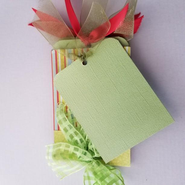 Unique Handmade Mini Journal