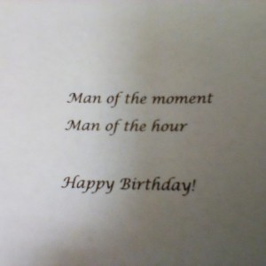 Greeting card for Him !