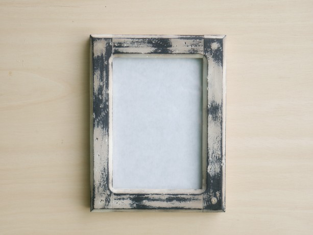 Forever 5 X 7  Distressed White picture frame