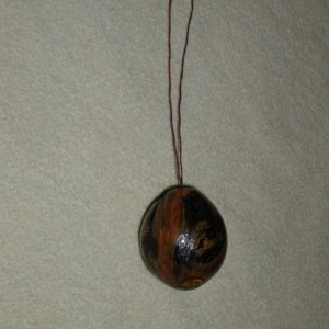 Pine Burl Ornament  #7