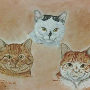 """Gift Certificate for TWO 8""""x10"""" Custom Pet Portraits"""