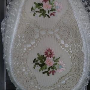 Bathroom handmade vintage decoration