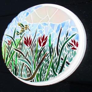 Mosaic Wall art, Bird, Hummingbird, Ready to ship, mosaic, mosaic wall are