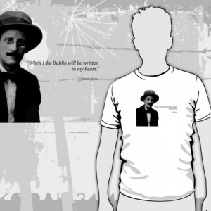 James Joyce - Dublin T-Shirt