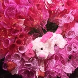 Beautiful Valentine Wreath