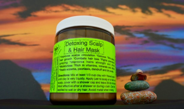 Detoxifying Hair and Scalp Mask-Organic-9oz