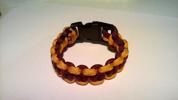 Washington Redskins single cobra bracelet