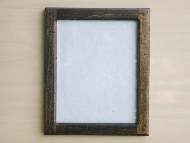 Forever 8 x 10 Distressed Poplar picture frame