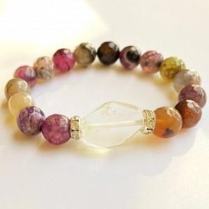 Amethyst Agate Bracelet