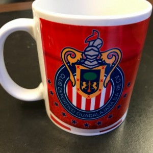 Custom Made Chivas Soccer team Coffee Mug