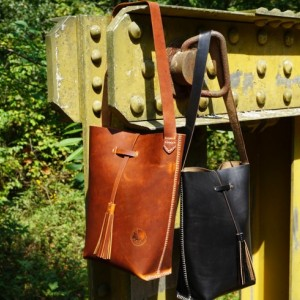 Medium Tote in Horween Leather - Handstitched