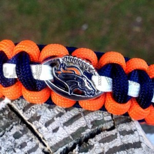 Denver Broncos Paracord Bracelet