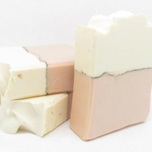 Coconut Milk, Shea, & Clay Handmade Soap