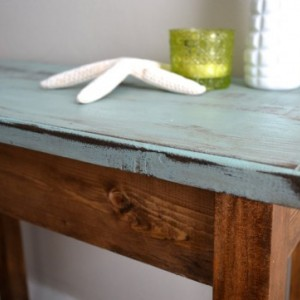 The Jane - Ivory Pine Side Table