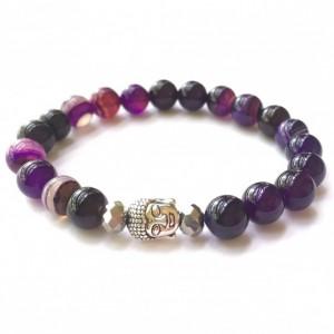 Purple Buddha Bracelet