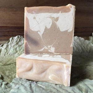 2 Bars SweeTea; Vanilla + Tea Tree Scented Handmade Cold Process Bar Soap with Goat's Milk 99% Natural