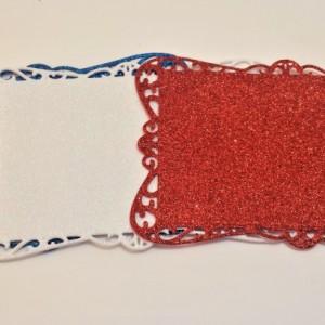 Sparkley Coasters, Set of 4, So Many Colors!