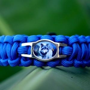 Wolf Paracord Bracelet