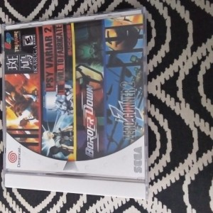 4 in 1 shooter sega Dreamcast game