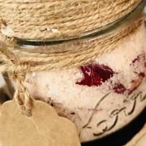 Rose Petal Bath Salts