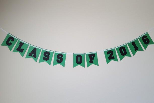 graduation party decorations class of 2016 banner grad